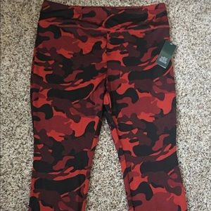 Women's camo work out pants